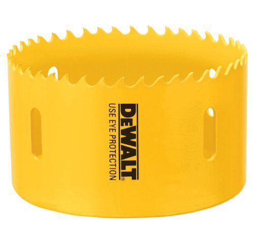 Dewalt D180056 3 1 2 Inch Standard Bi Metal Hole Saw Dewalt Hole Saw Metal
