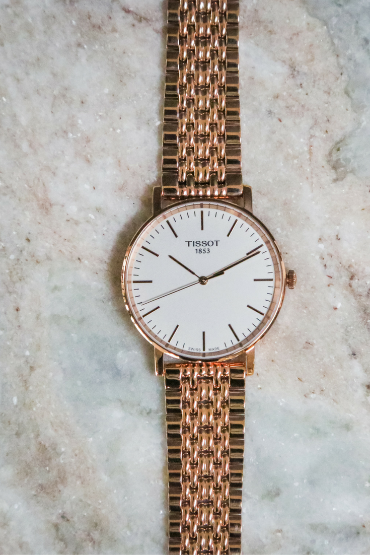 3500819811cf The new Tissot Everytime in Rose Gold is everything.