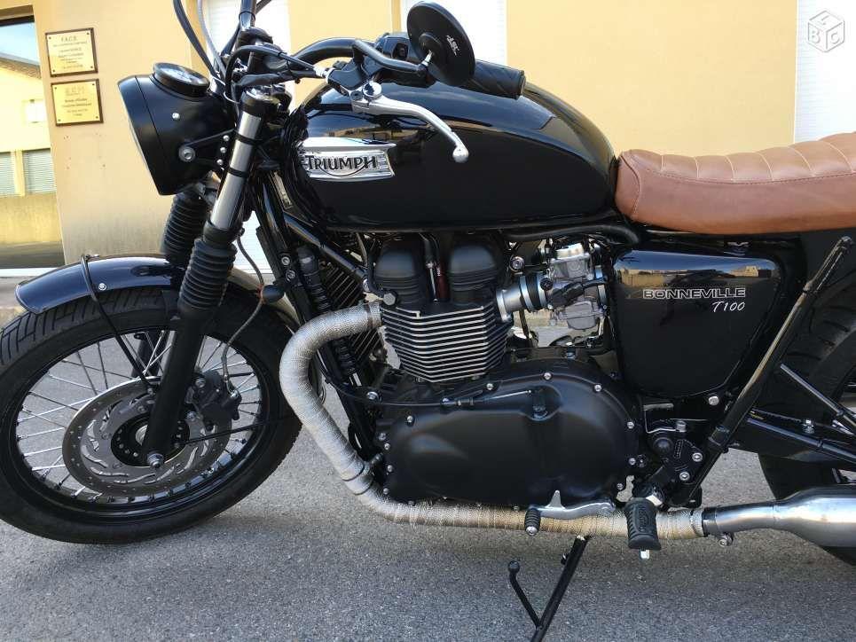 Triumph Bonneville T100 Black Préparée Baak Bikes Triumph