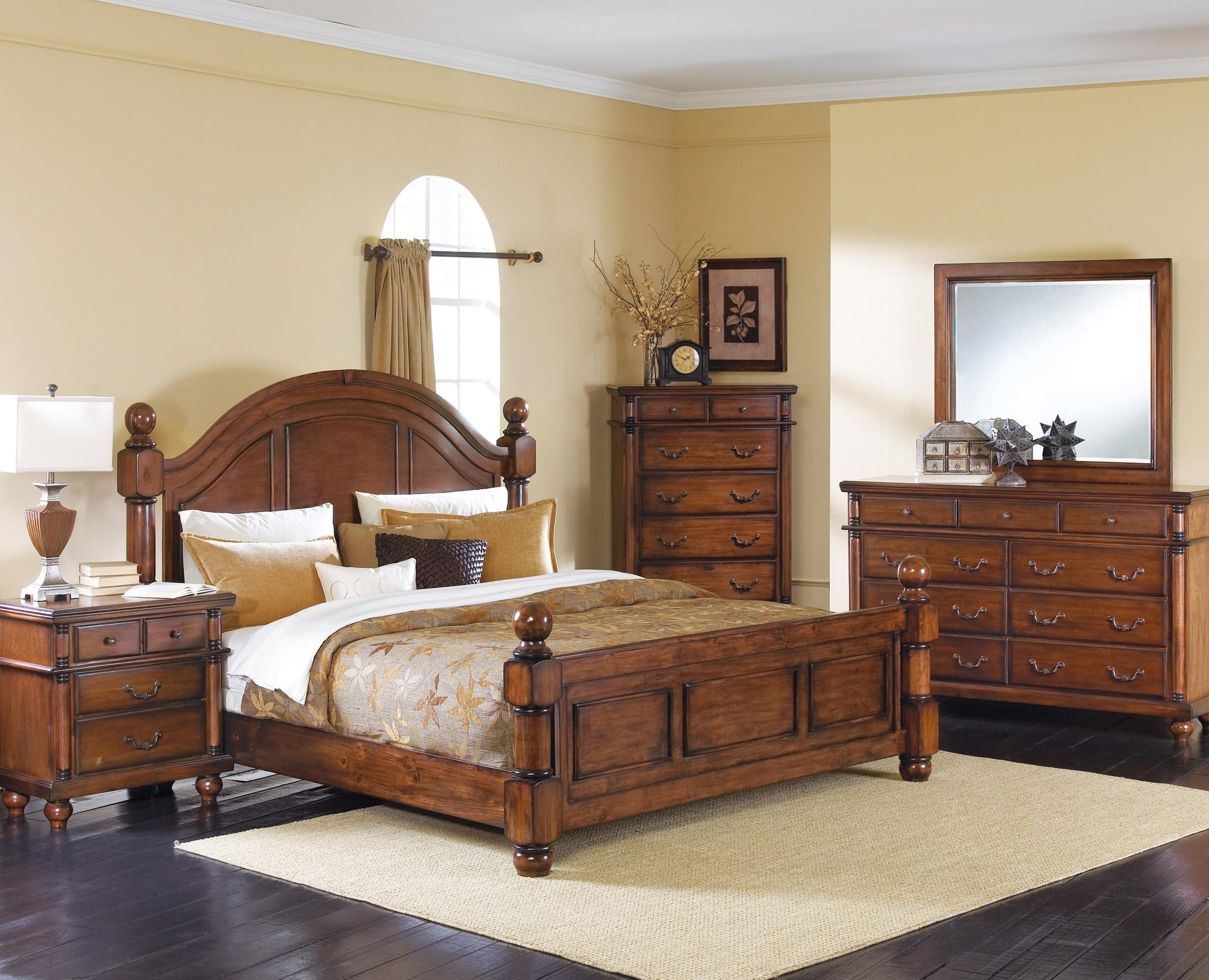 Augusta King Bedroom Group By Crown Mark Bedroom Sets Walnut Bedroom Furniture Bedroom Furniture Sets