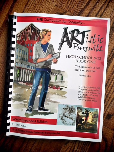 This is a great high school art curriculum! We are all about learning art techniques in our homeschool this year!!