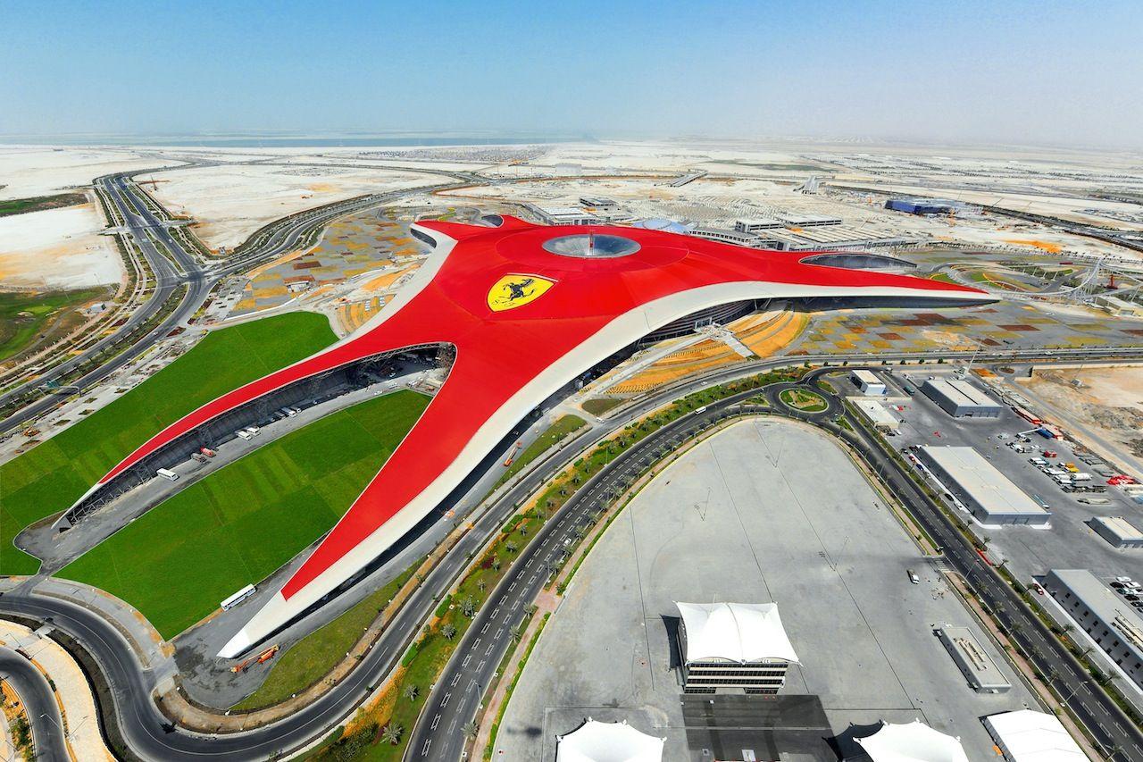 Farrari World In Abu Dhabi Ferrari World Abu Dhabi Ferrari World Abu Dhabi Travel