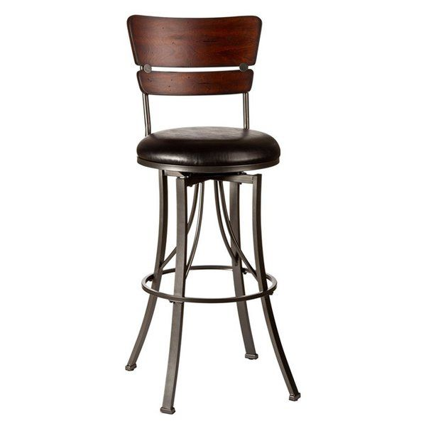 "Pepperton Tufted Swivel Counter Stool In 2019: Chatham 30"" Swivel Bar Stool In 2019"