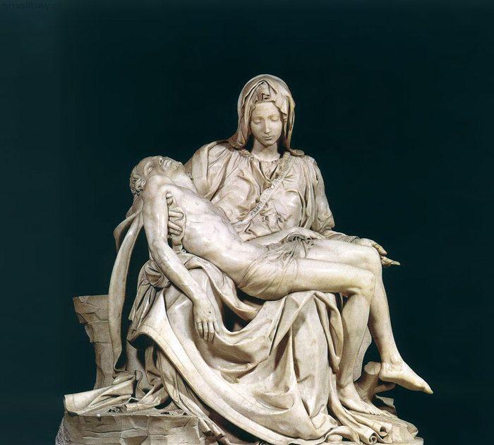 Relato Temporal Esta Obra Es La Piedad Del Vaticano Del Artista Miguel ángel Buonarroti Un Grupo Escultórico Re Arte Del Renacimiento Esculturas De Arte Arte