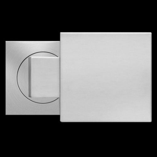 Square Door Knobs In Stainless Steel