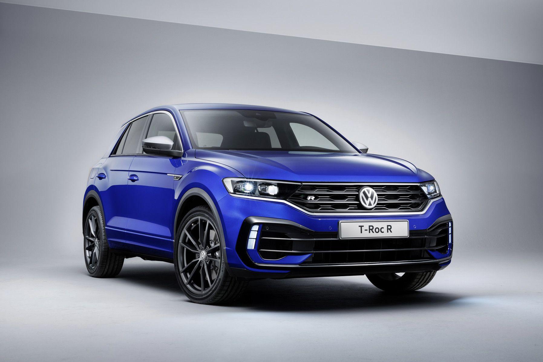 Volkswagen T Roc R Revealed With 296 Hp 221 Kw Tiguan R Line Tiguan R Volkswagen