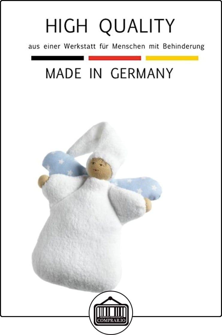 Doudou poupée Ange Pions env. 20cm Bleu en substances Westphalien  ✿ Regalos para recién nacidos - Bebes ✿ ▬► Ver oferta: http://comprar.io/goto/B00GVXD5NO