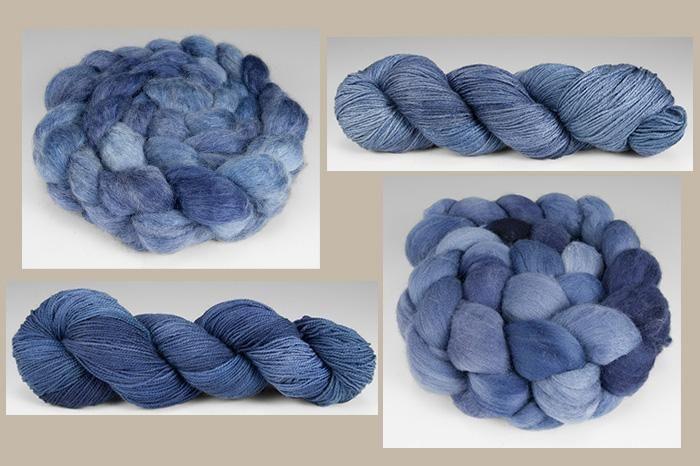 Raven Ridge Fiber Arts Alight Yarn - Distant Mountains