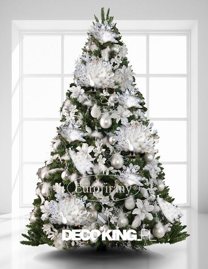 Ptaszki Na Choinke Ozdoby Swiateczne Eurofirany 4790611228 Oficjalne Archiwum Allegro Cool Christmas Trees Christmas Decorations Silver Christmas