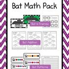 Bat Math Pack Includes Bat 10 Frames Batty For Patterns Bat Addition Bats 10 Frames Math Station Includes Blank Bat 10 Frame M Bat Math Math Math Stations