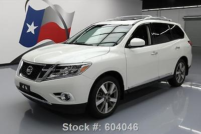 nice 2015 Nissan Pathfinder PLATINUM 4X4 SUNROOF NAV - For Sale View more at http://shipperscentral.com/wp/product/2015-nissan-pathfinder-platinum-4x4-sunroof-nav-for-sale-2/