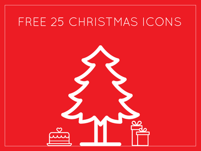 Download The Set of Free 25 Christmas Special Icons