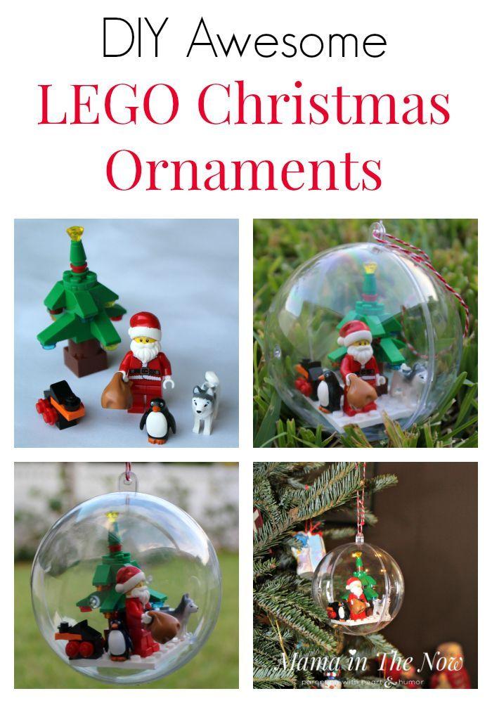 Diy Awesome Lego Christmas Ornaments Lego Christmas Ornaments Homemade Christmas Presents Practical Christmas Gift