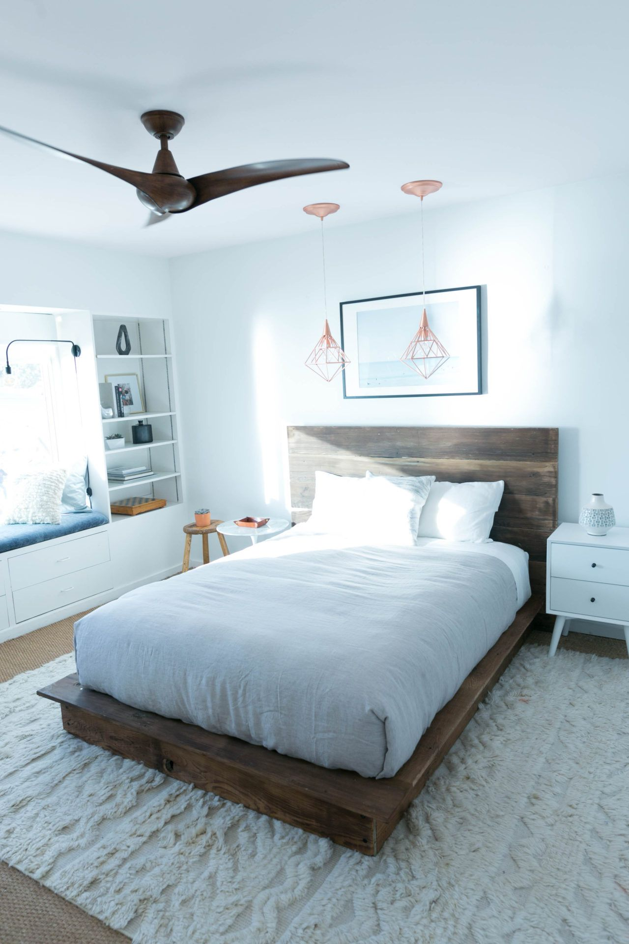 Diy wood platform bed frame diy reclaimed wood platform bed  platform beds bedrooms and blog