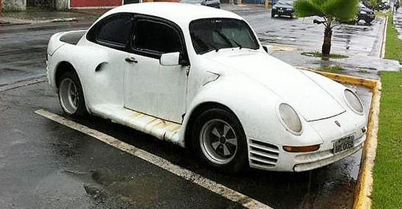 Vw Beetle Porsche 959 Weird And Funny Kit Cars Cars Vw Beetles