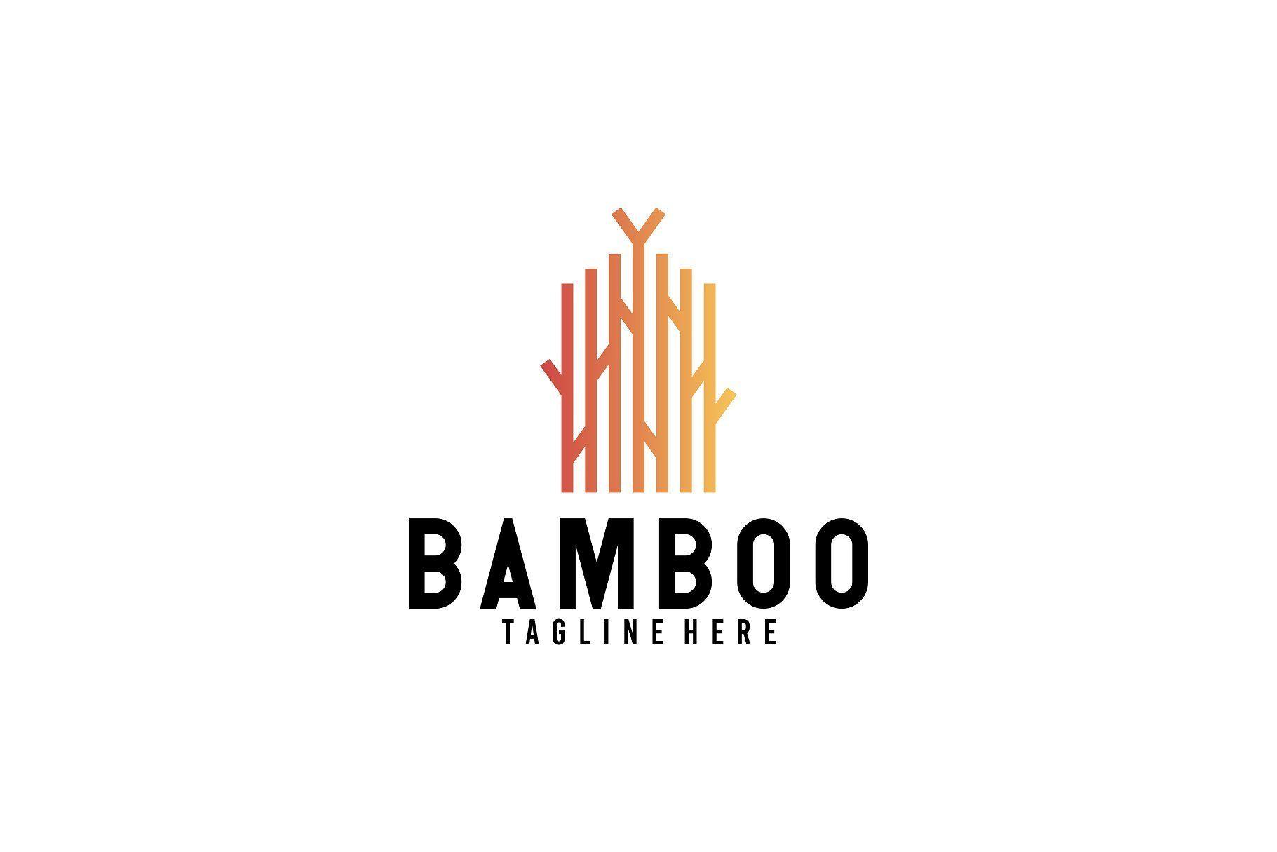 Bamboo Logo Design Template