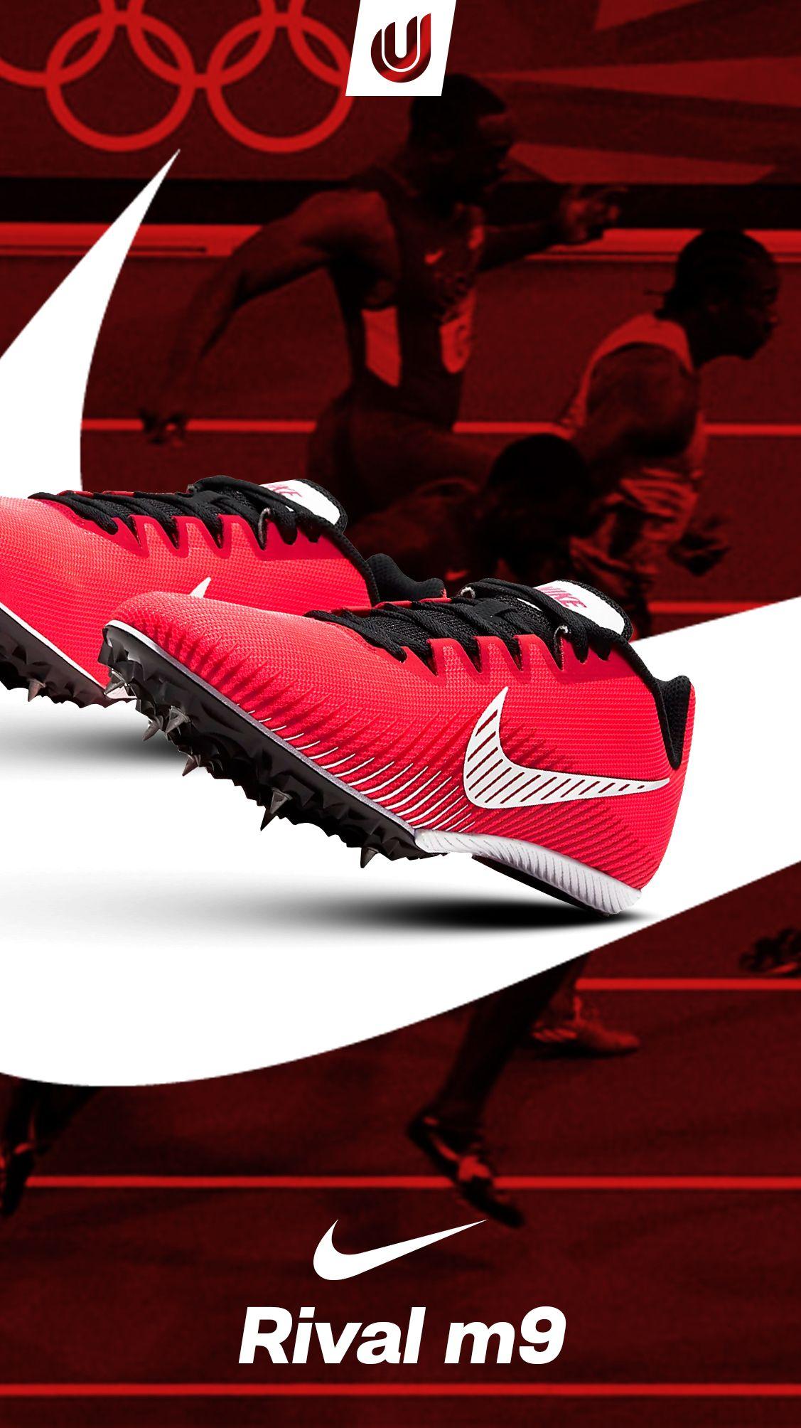 Leeds creciendo Escultura  Nike Zapatillas de clavos para atletismo Zoom Rival M9 | Shoes, Nike, Sport  shoes