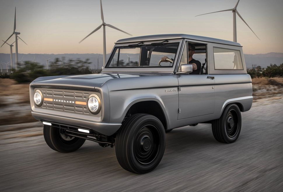Zero Labs Electric Ford Bronco While We Wait Anxiously For The