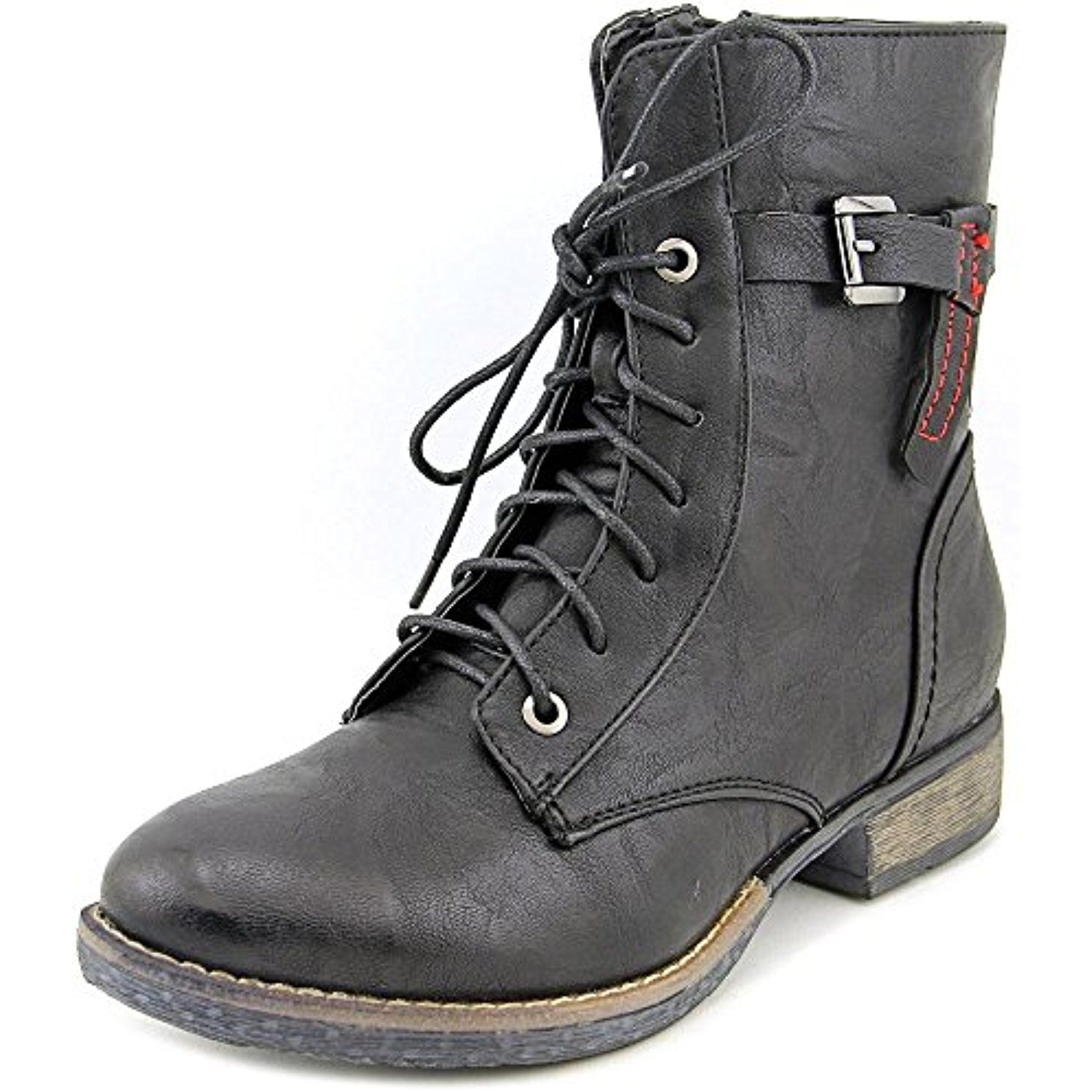 Fortress Brown Woman Tie Boot