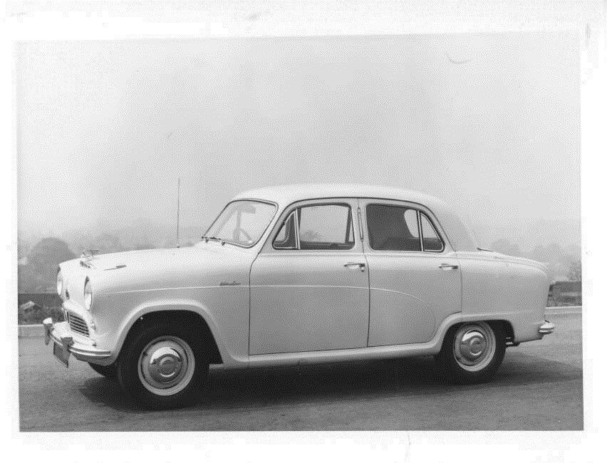 1954 Austin A50 Cambridge Saloon Original Factory Photo Oub9306 Ebay