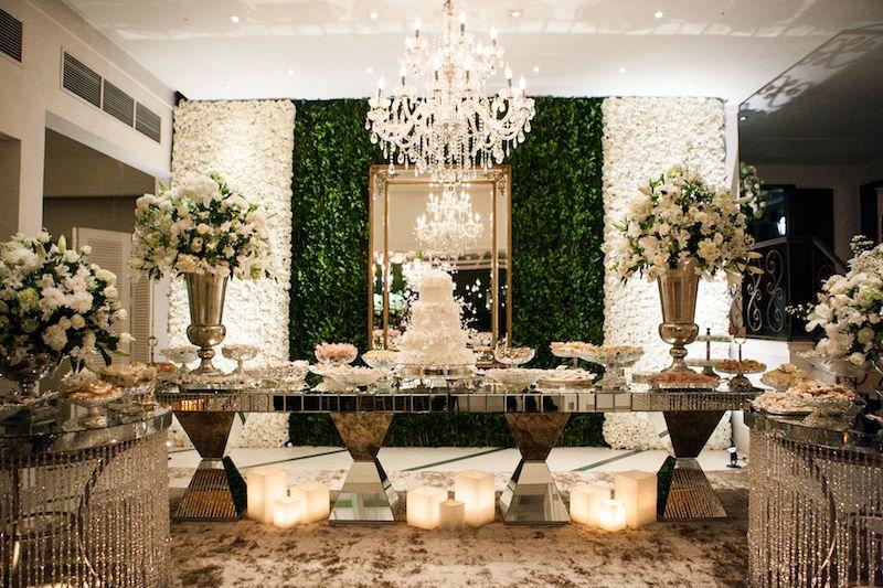 Casamento Clássico: Gabriela & Rodrigo   Casamento mesa de bolo ...