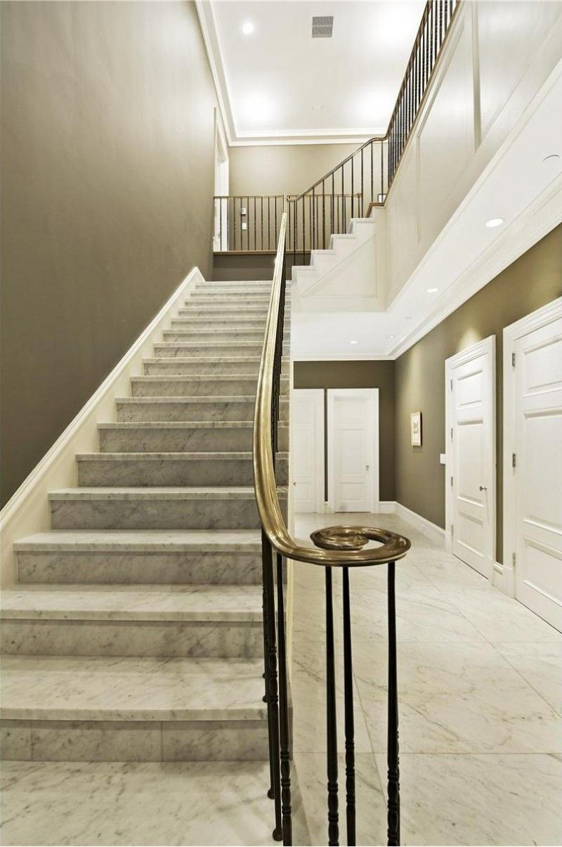 luxury marble house in tribeca | marbles, marble stairs and staircases