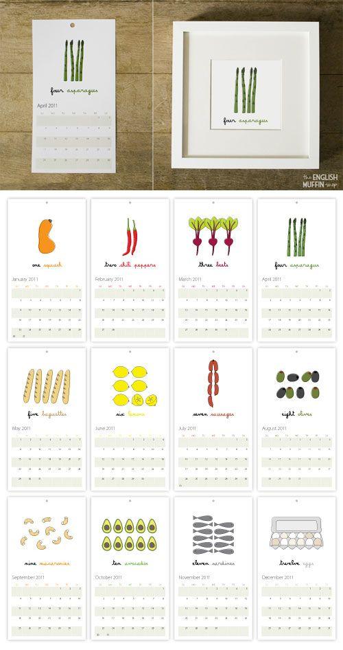 Http Papercrave Com 2011 Calendar Designs Part 6 Calendar Design Printable Calendar Template Calender Design
