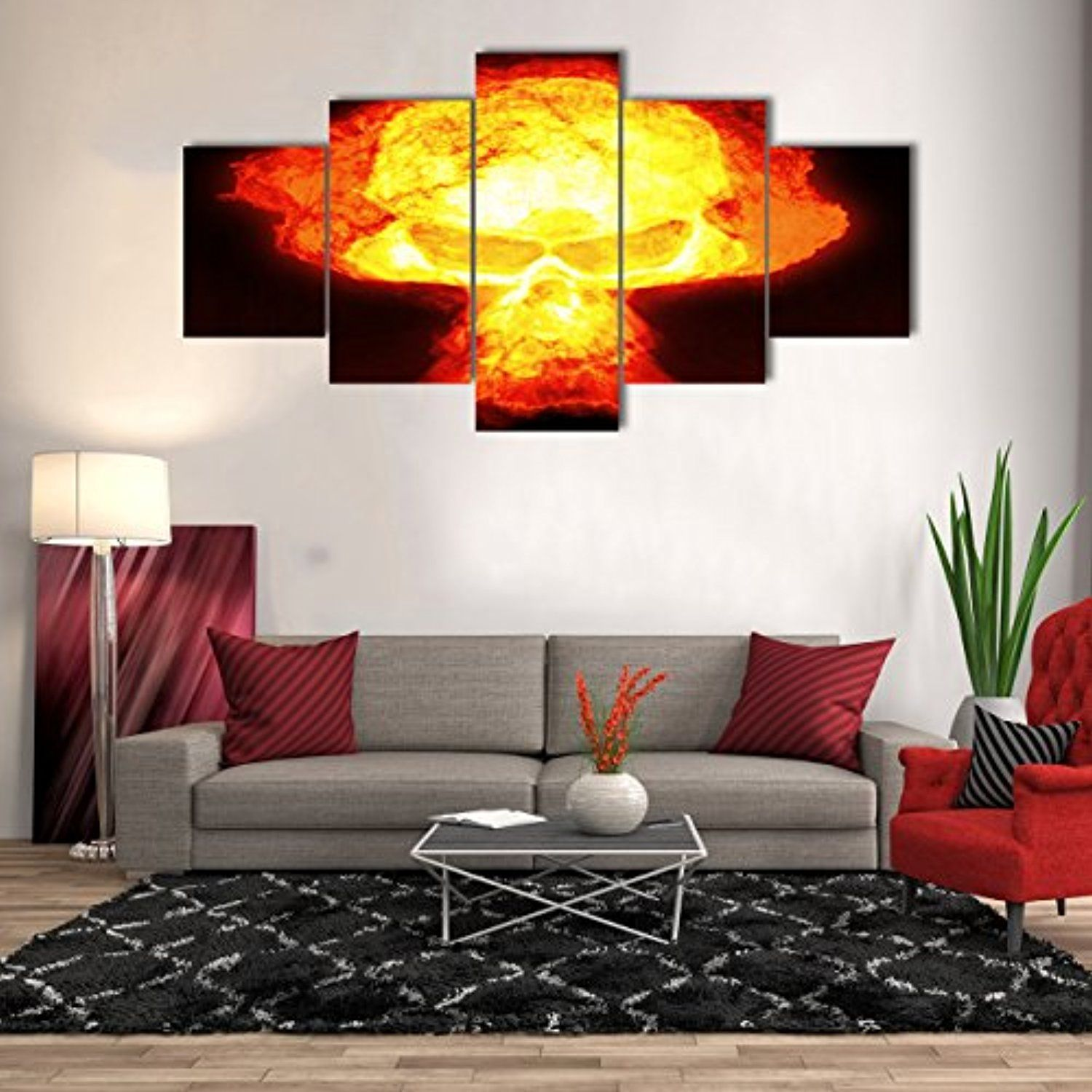 48++ Large wall art for living room amazon ideas