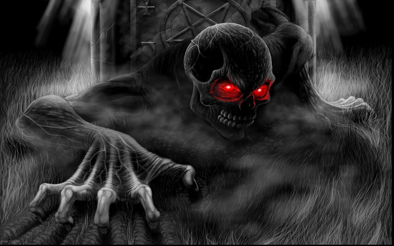Cool Skulls 3d Red Eyes Wallpaper Hd 5200 Wallpaper Scary Wallpaper Skull Wallpaper Halloween Wallpaper