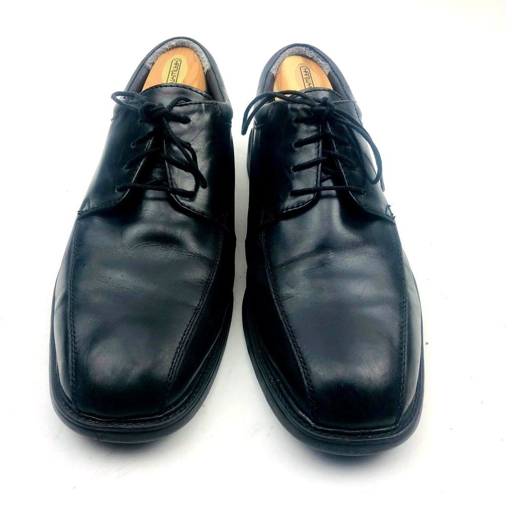 257ba13c79b329 Nunn Bush Men s Black Leather Oxfords Shoes Comfort Gel Size 10 M  NunnBush   Oxfords  Formal