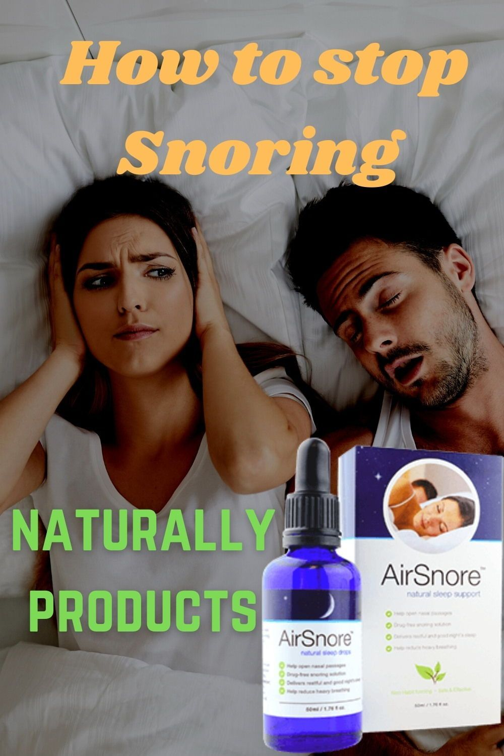 Airsnore instantly snoring stop device or drop in 2020
