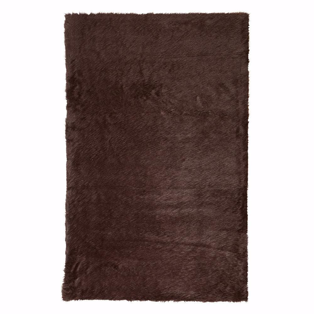 The Home Decorators Collection Faux SheepskIn Chocolate