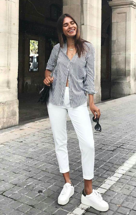 Looks Basicos Com Toque Fashionista Looks Looks Com Camisetas