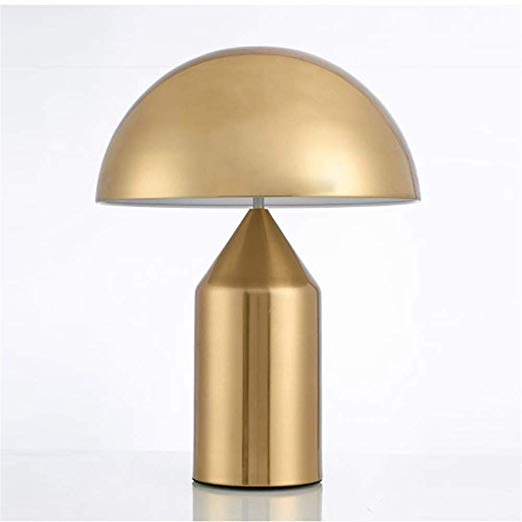 amazon: e14 modern contemporary simple metal mushroom table lamp bedside lamp , white ,… in