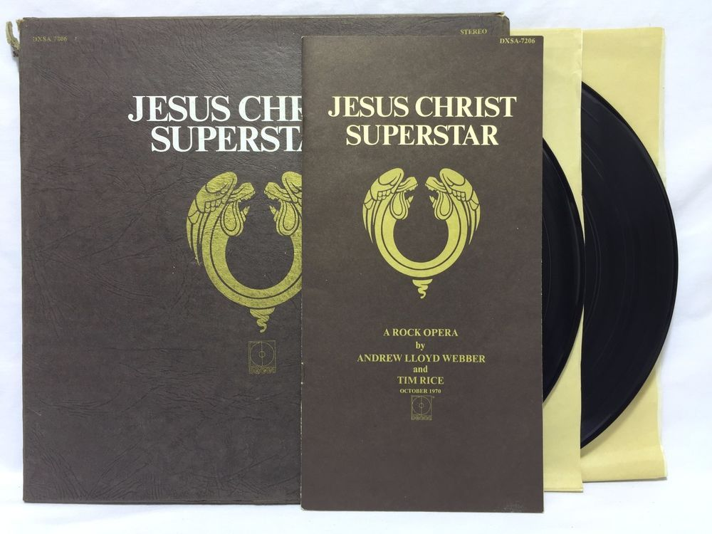 Jesus Christ Superstar Original Box Set 2LP Libretto #Vinyl Record DXSA 7206