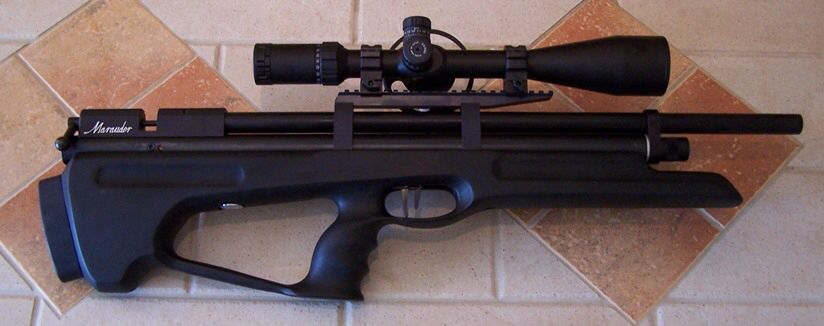 Mad Dog's new MDRL bull pup stock for the Benjamin Marauder