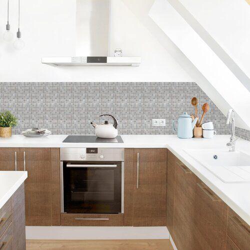 Photo of Ebern Designs PVC Spritzschutzpaneel Selbstklebend Aston | Wayfair.de