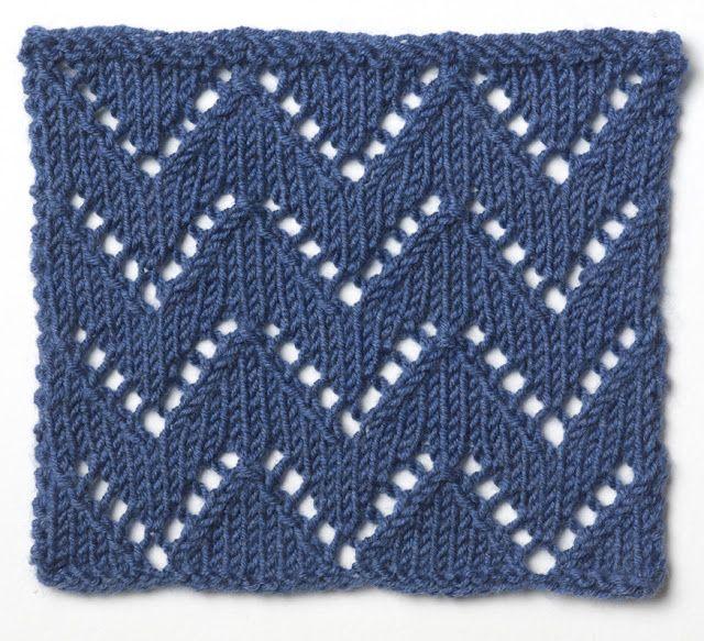 5 Chevron Knitting Patterns Knit One Purl One Pinterest