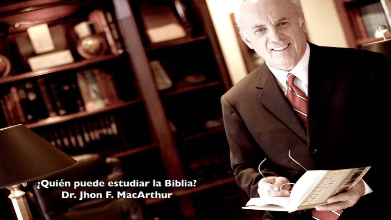 """Serie: Cómo estudiar la Biblia. """"¿Quién puede estudiar la Biblia?"""" Dr. J..."""