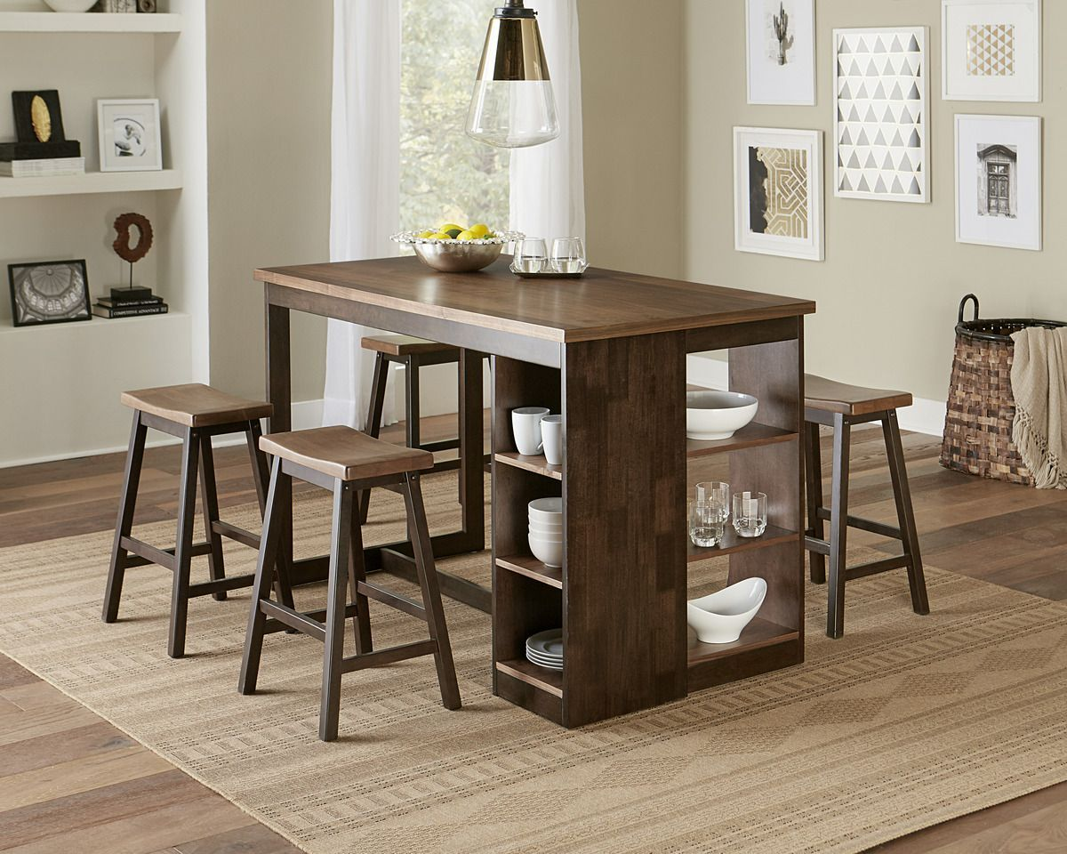 80 D879 14 Dining Table With Storage Small Kitchen Tables