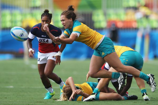 Evania Pelite Photos Photos Rugby Olympics Day 2 Olympics Rugby Girls Womens Rugby