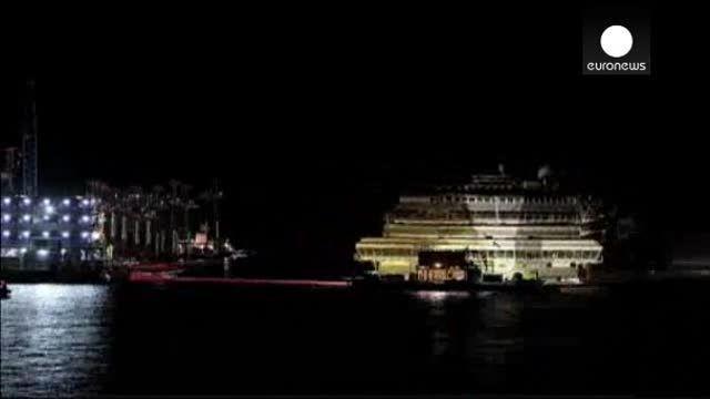 El Costa Victoria se prepara para su viaje al desguace