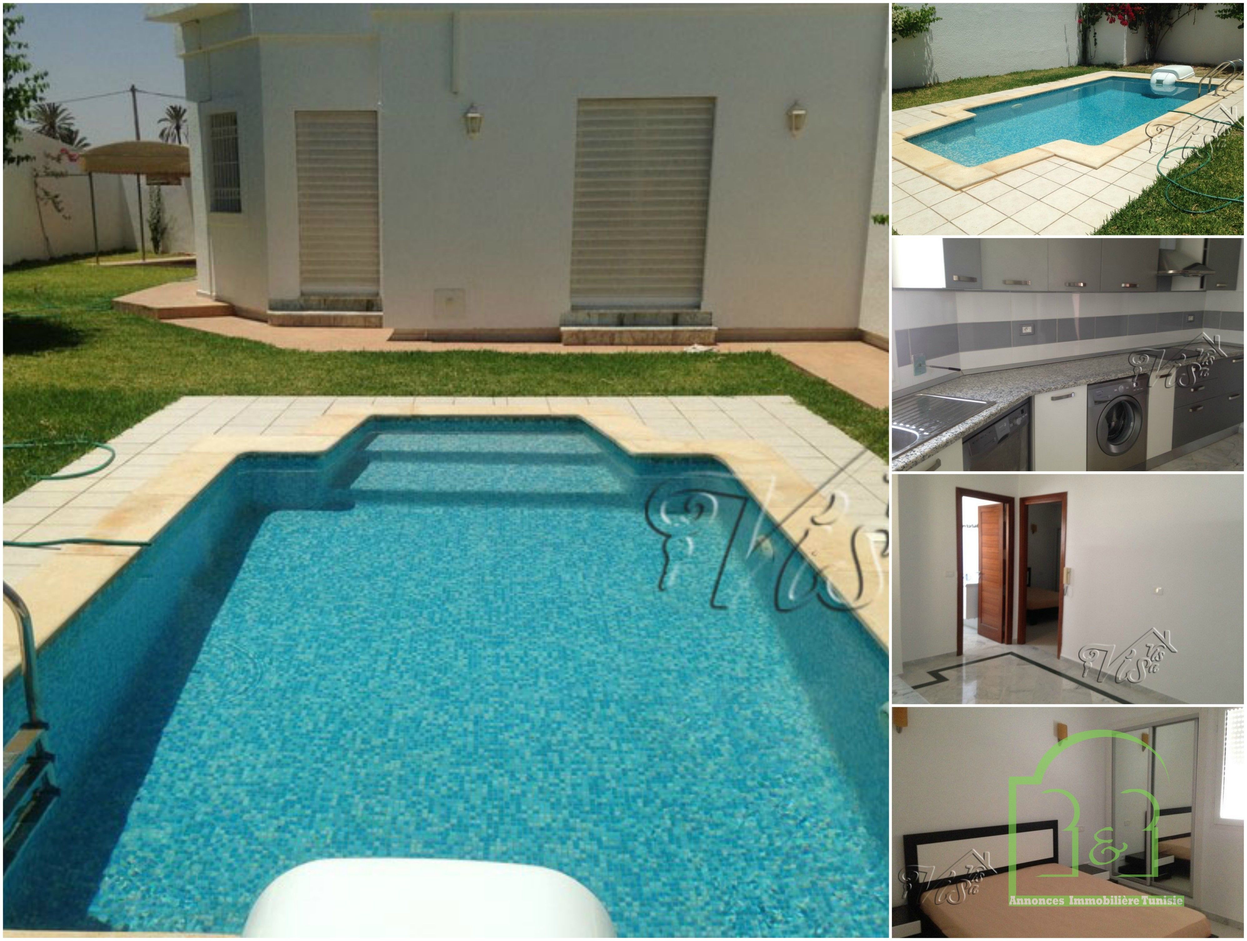 À Vendre à Djerba Vente Villa Neuve SituÉe A Midoun Djerba Bnb Tunisie Outdoor Decor Home Home Decor