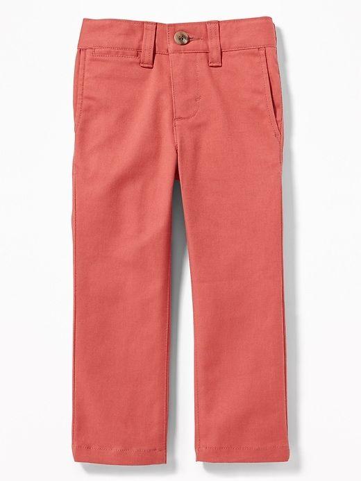 c18d6814b Old Navy Toddler Boys' Ultimate Skinny Built-In Flex Twill Pants Gooseberry  Red Regular Size 12-18 M