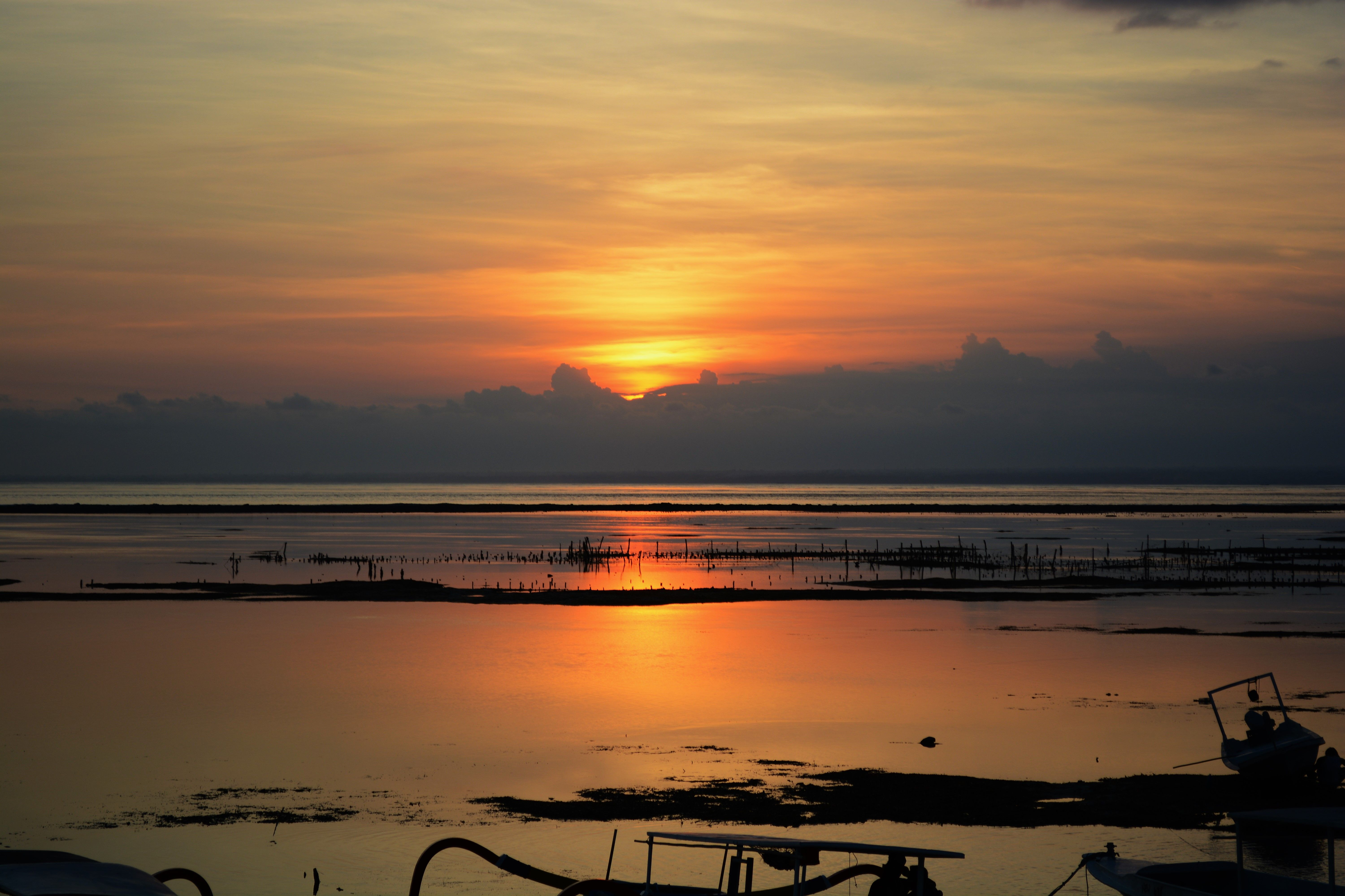 The Golden Sunsets of the Indian Ocean