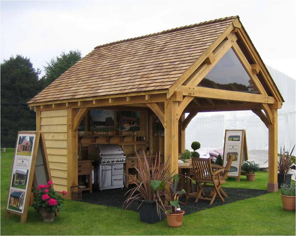 Best Our Cheshire Cookhouse With Cedar Shingle Roof Summer House Garden Backyard Sheds Garden 400 x 300