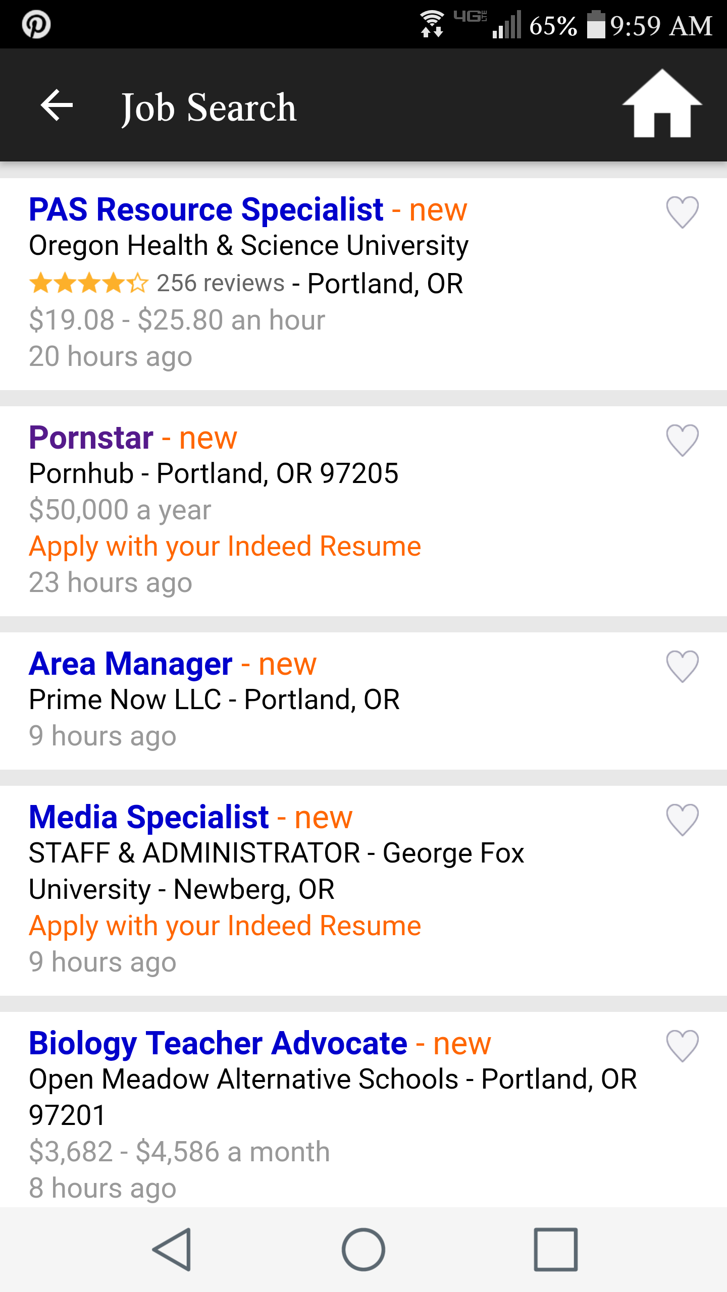 Indeed Resume Search Beauteous Found This Pornstar Ad During My Job Search Today Pets Funny