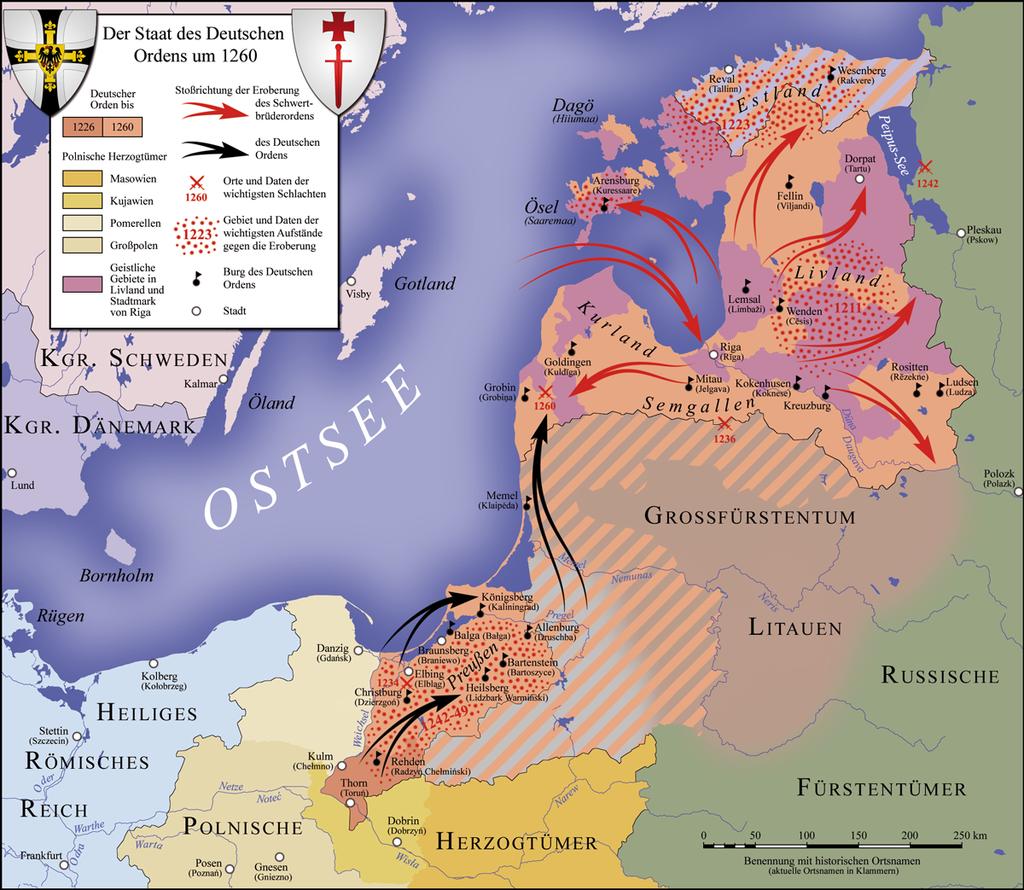 Deutscher Orden 1260 - Prußen – Wikipedia