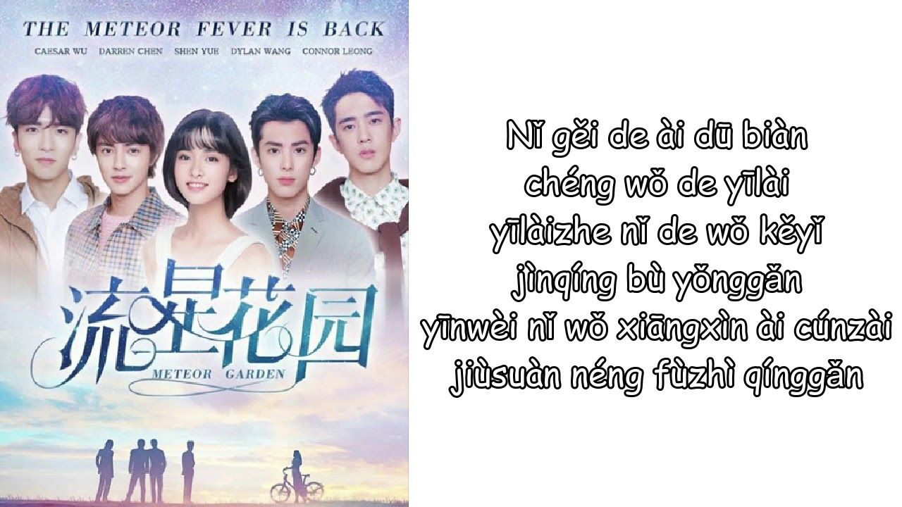 Pin on meteor garden