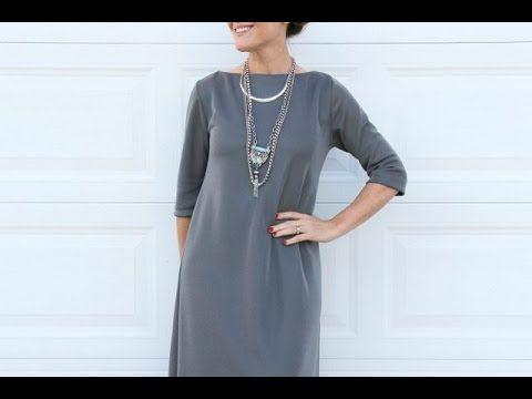 d63377b26333340 Вот как пошить стильное платье БЕЗ выкройки СВОИМИ РУКАМИ. Мастер-класс  (видео) — В Курсе Жизни